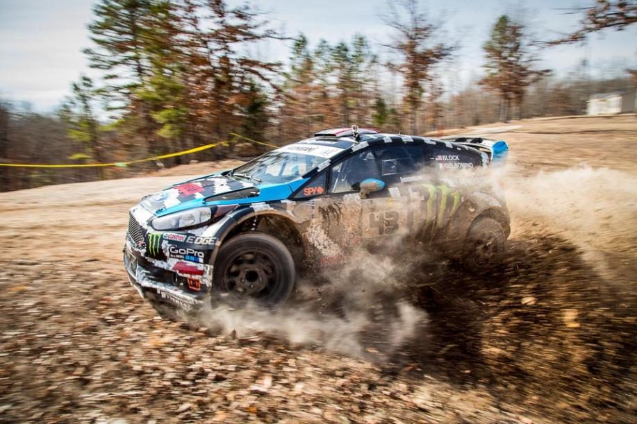 Alex and Ken Block - Image by Hoonigan Racing