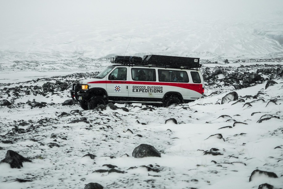 Iceland - Glacier Ice Caves